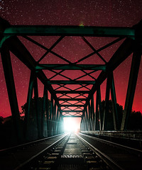From The Red World (BY DIMWORKS) Tags: canon dimworks 5dmk4 1635mm train rail way night stars