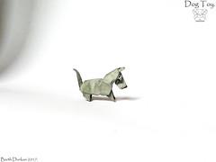 Dog Toy - Barth Dunkan. (Magic Fingaz) Tags: anjing barthdunkan chien chó dog hond hund köpek origami origamidog perro pies пас пес собака หมา 개 犬 狗