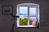 All aboard (Photography by Julia Martin) Tags: falmouth england unitedkingdom gb photographybyjuliamartin scope harbourview windowseat whitewalls cornwall windowwednesday window cottage restandrelaxation