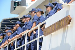 Cutter Oliver Berry arrives to new homeport in Honolulu (Coast Guard News) Tags: coastguard cutter oliverberry fastresponsecutter honolulu oahu hawaii blessing frc base molle unitedstates us