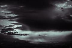 cloudscape XXVII (*altglas*) Tags: cloudscape cloudscapes ir infrared infrarot clouds wolken monochrome