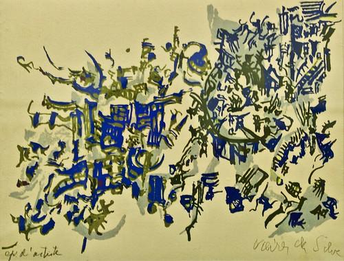 Le Jardin (19599 - Helena Vieira da Silva (1908-1992)