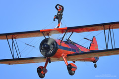 46Aviation (monographix) Tags: www46aviationcom danielle wingwalker wingwalking daniellewingwalker stearman athensflyingweek screensaver