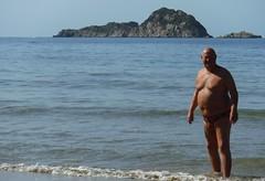 North Beach Arillas (pj's memories) Tags: greece arillas gravia seaside speedos kiniki tanthru trunks slip speedo beach