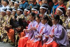 Smile! Everyone (seiji2012) Tags: 谷保天満宮 例大祭 神幸祭 国立市 記念写真 祭り kunitachi yabotenmangu yaho smile costume festival