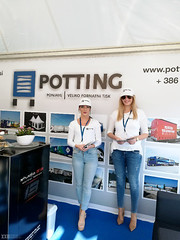 Hostesi Potting Ponjave na Michelin eventu 2017.
