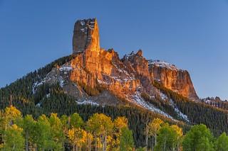 *Chimney Rock @ Golden Hour*