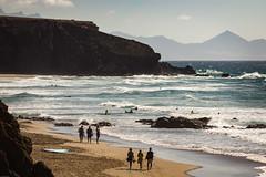 Playa del Viejo Rey, La Pared, Fuerteventura (chrisgj6) Tags: lapared canaryislands beach spain coast fuerteventura sea pájara canarias es