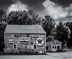 The Love Barn 02 (kenmojr) Tags: american antique antiques architecture atlantic building country eastern furniture heating lovebarn maine orland ovens parlourheaters roadside rural store stoves structure unitedstates usa used wood wooden yankee bw blackwhite monotone bwworldwithnikon