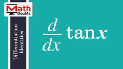 Derivative of tan x with respect to x (Math Doubts) Tags: calculus trigonometry limits math maths mathematics mathdoubts derivative tanx