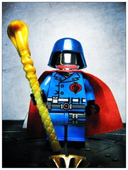 Cobra Commander (LegoKlyph) Tags: lego custom cobra commander gijoe cartoon movie 80s retro comic book snakes