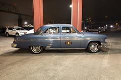 Mercury (Curtis Gregory Perry) Tags: astoria oregon mercury 1953 merc 53 car auto automobile classic vintage old blue sedan nikon d810 cannery pier hotel spa megler bridge columbia river