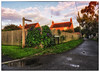 Day 230/365 2017-08-18 The Back Lane (Kirsten Osa) Tags: elstead england unitedkingdom gb morningglory backlane path reflection sunrise