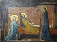 Death of St Joseph (Granpic) Tags: france occitanie midipyrénées hautegaronne toulouse church église églisenddutaur painting bernardbénézet 19thcenturypainting deathofstjoseph deathbedscene holyfamily