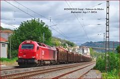 Maderas en Galicia (JoseM354) Tags: takargo tren madera barbantes orense valença do minho 6003 galicia pontevedra vías