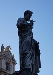 Sant Pere / Saint Peter, Vaticà / Vatican (Sebastià Giralt) Tags: roma rome italy italia vaticano vatican vatica santpere sanpedro saintpeter sanpietro escultura sculpture