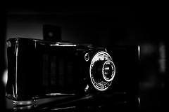 untitled . (helmet13) Tags: d800e raw bw studies kinaxcadet analog camera foldingcamera selectivefocus bohek aoi heartaward peaceaward 100faves world100f