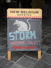 Storm Takeover (knightbefore_99) Tags: storm sign rat cool beer cerveza craft board chalk awesome staugustine bar pub local bc eastvan vancouver thedrive commercialdrive