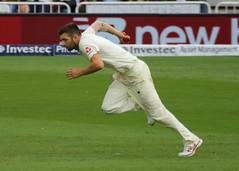 Mark Wood (Treflyn) Tags: cricket match england mark wood bowling run up trent bridge nottingham second test south africa