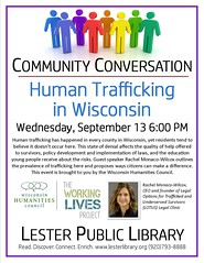 Community Conversation Human Trafficking