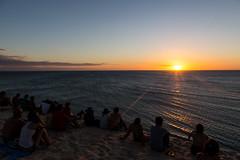 Sunset -  Jericoacoara - Brazil (Luiz Contreira) Tags: sunset sun beach people pessoas jericoacoara ceará brazil brasil brazilianphotographer southamerica américadosul ocean paradise paraiso peace landscape hank