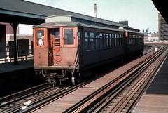 CTA Stockyards 1 Jeffrey Wein photo dupe slide (jsmatlak) Tags: chicago cta l elevated subway metro rapid transit electric railway train met metropolitan