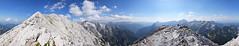 panoramski pogled od 360° s grebena Prisojnika (2547 m), Triglavski narodni park, Slovenija / 360° panoramic view from the ridge of Prisojnik (2547 m), Triglav National Park, Slovenia (Hrvoje Šašek) Tags: prisojnik prisank kopiščarjevapot kopiščarroute triglavskinarodnipark triglavskinacionalnipark triglavnationalpark planina mountain planine mountains planinarenje hiking planinari hikers planinar hiker oblak cloud oblaci clouds peak summit stijena rock stijene rocks litica cliff litice cliffs hill alpe alpen alps alpi julijskealpe julianalps julischealpen alpigiulie hribi ljeto summer pogled view panoramskipogled panoramicview pejzaž landscape priroda nature slovenija slovenia slowenien d3300 staza put route path trail ferata viaferrata penjanje climbing svjetlo light panorama 360° 360degrees panoramskipogledod360° panoramicviewof360° 360°panoramicview