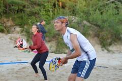 """""""Vega 1"""" pludmales volejbola un tenisa līgas 4.posms, 2017.gada 2.augustā. Foto: K.Austere"""