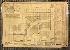 Port Plaza Mall Blueprint: L-1- Green Bay, WI (MichaelSteeber) Tags: greenbay portplaza mall washingtoncommons wisconsin
