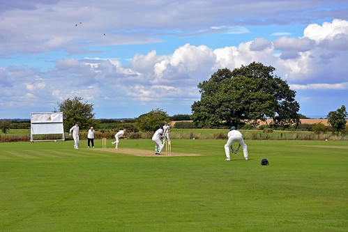 Sunny afternoon at Sicklinghall CC