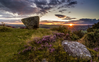 Anvil Stone, Baslow Edge