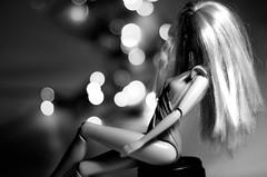 (Ánxela Pérez) Tags: barbie doll muñeca juguete model modelo canon objetivo bokeh desenfoque byn bw