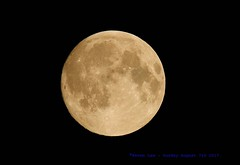 Howl At The Moon......... (law_keven) Tags: moon luna fullmoon sturgeonfullmoon space theskyatnight