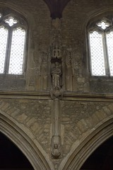 Photo of 574-20170312_Bruton Church-Somerset-Nave (S side,W half)-Clerestory carved figure
