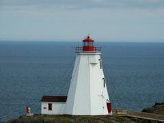 The Swallow Tail Lighthouse on Grand Manan Island (Bay of Fundy), New Brunswick (Ullysses) Tags: swallowtaillighthouse northhead grandmananisland bayoffundy newbrunswick canada summer été lighthouse phare mer sea