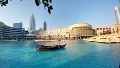 Dubai Mall (sorenfrancoregis) Tags: mall dubai dubaimall afternoon middleeast uae indoorlake dubaifountain burjkhalifa malllake