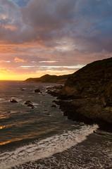 Woolacombe Sunset (Jacob Kenworthy) Tags: woolacombe northdevon devon d7000 sunset sea sky lightroom coast cokinnd cokinfilters 18105mm landscape seascape ocean
