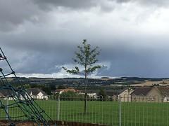 April showers in August in Bonnyrigg, looking towards Dalkeith (christopherbrown) Tags: parc park bonnyrigg écosse scotland