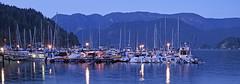 Deep Cove at Twilight (Stickwork-Steve) Tags: sonyflikraward deepcove britishcolumbia vancouver boats sailboat twilight ocean landscape seascape sony sonya7ii sonyfe24240mm