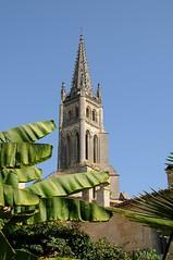 Village de Saint-Emilion, Gironde, France (Tsinoul) Tags: village saintémilion gironde france département33 bordelais vignobledesaintémilion nouvelleaquitaine clocher église monolithe églisemonolithe nikon d300 nikond300
