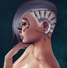 "★ Look 205 ""Mechanical Illusion"" (by Marzia | Lilith | Shaitan06) Tags: azoury slackgirl shi maitreya lelutka ebentotheevent minahair swallow darknessmonthlyevent hiddenchapter ritratto bentoavatars secondlife"