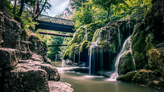 Bigar waterfall - Romania - Travel photography (Giuseppe Milo (www.pixael.com)) Tags: grass bigar romania landscape waterfall nature water longexposure reflection trees rocks valeaminișului județulcarașseverin ro onsale