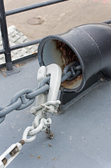 Secure the anchor! (Bob Gundersen) Tags: bobgundersen robertgundersen gundersen nikon nikond600 d600 marthasvineyard capecod newengland massachusetts sail sailboat boat water waterfront sea ocean yacht engineering outside outdoor exterior anchorage interesting image photo places