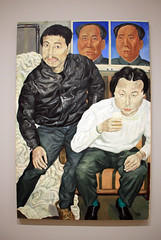 Two Drunk Painters, by Liu Wei (JB by the Sea) Tags: sanfrancisco california july2017 urban financialdistrict sanfranciscomuseumofmodernart sfmoma painting liuwei