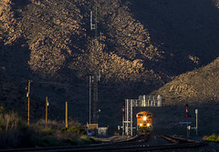 BNSF 8776 W U GALPIT1 06A Valentine, AZ (Slug96) Tags: bnsf railway arizona valentine route 66 trains railroad photography golden hour transon emd canon 60d slug96