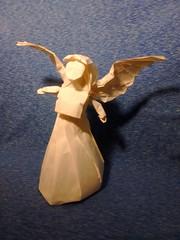 Angel 3.0 (Tadashi Mori) (bensaderholm) Tags: origami angel wings