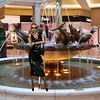 Trafford Centre 5 (SoakinJo) Tags: wet wetlook wetclothes soaked soakinjo drenched wetdress wetclothing heels highheels fountain traffordcentre wetstockings