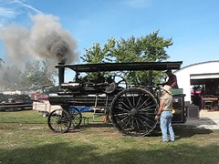 Sawing Wood With A Port Huron Steam Threshing Engine (ilgunmkr - Mourning The Loss Of My Wife Of 52 Year) Tags: steamtractionengine steamshow steamthreshingengine porthuronsteamtractionengine porthuron centralstatesthreshermensreunion pontiacillinois 2017 sawmill enjoyillinois
