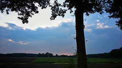Just be lucky (Jos Mecklenfeld) Tags: rain landschap landschaft landscape weather weer wetter laudermarke terapel westerwolde groningen netherlands niederlande nederland sonyxperiaz5 xperia