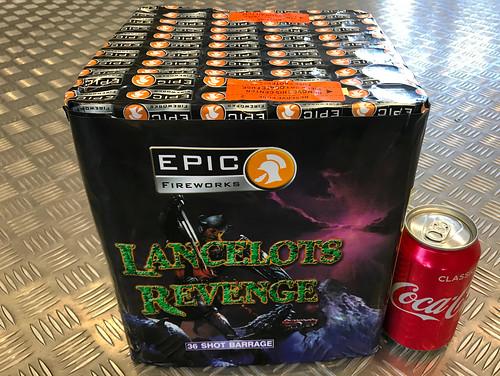 Lancelot's Revenge 36 Shot CE Barrage #EpicFireworks